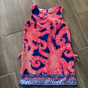 Lilly Pulitzer Girls Donna Romper Size L 8-10